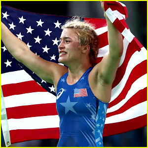 Helen Maroulis Wins USA's First Gold in Women's Wrestling