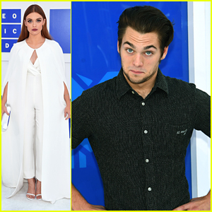Holland Roden & Dylan Sprayberry Step Out For MTV VMAs 2016