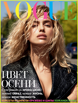 Irina Shayk Is Totally Blonde For 'Vogue' Russia!