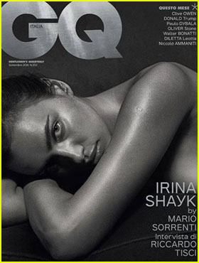 Irina Shayk Bares it All for 'GQ Italia' September 2016 Cover