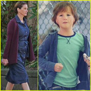 Jacob Tremblay Looks Unrecognizable While Filming 'Wonder' With Julia Roberts