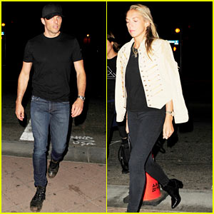 James Marsden Hits Up Radiohead Concert With Girlfriend Edei
