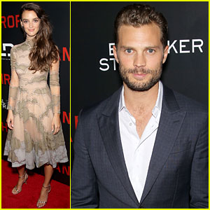 Jamie Dornan Premieres 'Anthropoid' in NYC with Charlotte Le Bon!