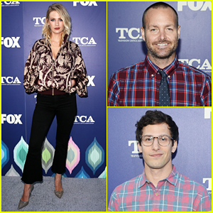 January Jones Brings The '90's To Summer TCA Fox All-Star Party 2016!