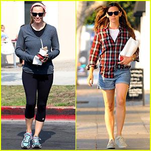Jennifer Garner Has a Busy Thursday in Brentwood!