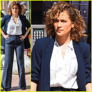 Jennifer Lopez Gets Back to Work After Casper Smart Split