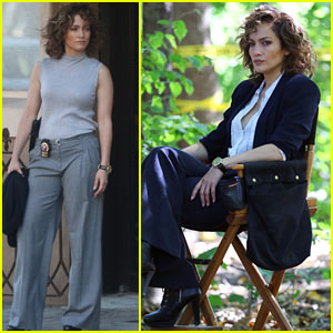 Jennifer Lopez Continues Filming Season Two of 'Shades of Blue' in NYC