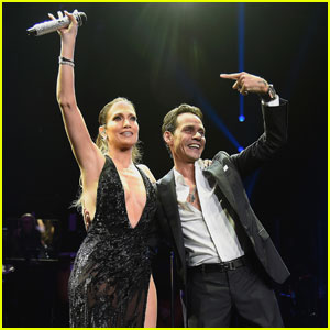 Watch Jennifer Lopez & Ex Marc Anthony Duet in NYC!