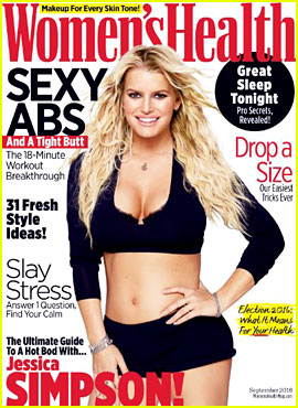 Jessica Simpson Considered Getting a Breast Reduction