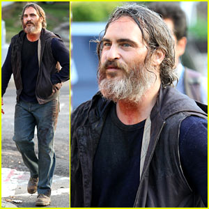 Joaquin Phoenix Films New Scenes for 'You Were Never Really Here'