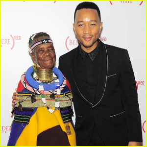 John Legend Celebrates 10 Years of the (RED) Campaign