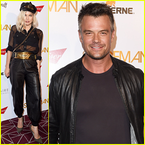 Josh Duhamel Gets Support From Fergie At 'Spaceman' Premiere - Watch Official Trailer!