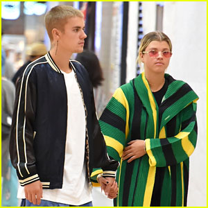 Justin Bieber & Sofia Richie Fuel Relationship Rumors By Holding Hands