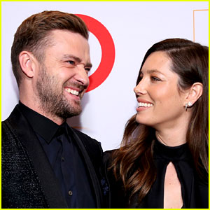 Justin Timberlake & Jessica Biel Take Fun Photo Booth Pics with Hillary Clinton!