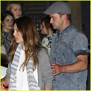 Justin Timberlake & Jessica Biel Step Out for Saturday Date Night
