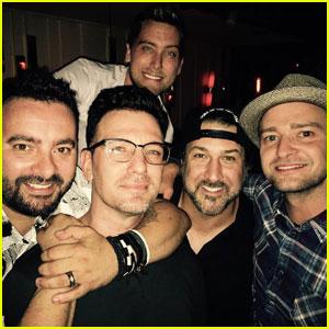 Justin Timberlake & 'NSYNC Reunite for JC Chasez's 40th Birthday!