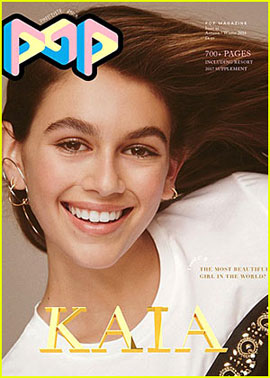 Kaia Gerber Covers the September Issue of 'Pop' Magazine!