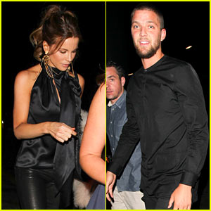 Kate Beckinsale & NBA Player Chandler Parsons Hit Up Hyde Nightclub