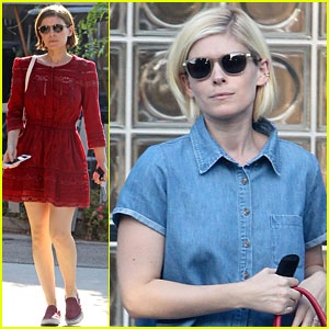 Kate Mara Debuts New Blonde Hair!