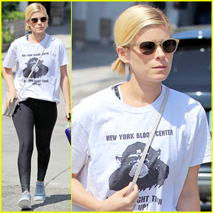 Kate Mara Gets Ready for a Dance Session in WeHo!