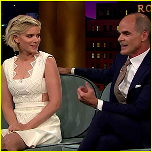 House of Cards' Kate Mara & Michael Kelly Reunite on 'Corden'