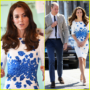Kate Middleton Says Prince George 'Makes So Much Mess' In The Kitchen!