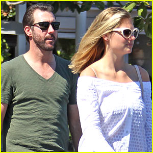 Kate Upton & Justin Verlander Head to Lunch in WeHo
