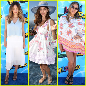 Katharine McPhee, Angela Sarafyan, & Dania Ramirez Attend the Just Jared Summer Bash!