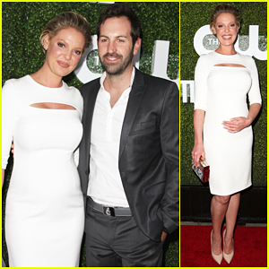 Katherine Heigl Gets Support From 'Amazing' Hubby Josh Kelley At CBS, CW, Showtime Summer TCA Party!