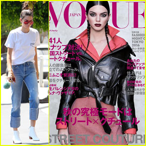 Kendall Jenner Covers 'Vogue Japan' October 2016