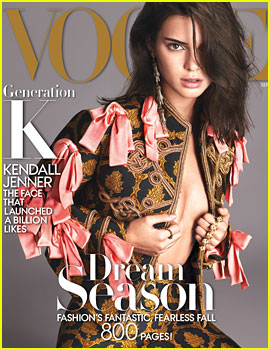 Kendall Jenner Talks Caitlyn Jenner & Growing Up with Famous Sisters in 'Vogue'