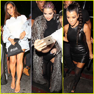 Kim, Khloe & Kourtney Kardashian Celebrate Kylie Jenner's 19th Birthday Party!