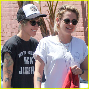 Kristen Stewart is All Smiles While on Date With Girlfriend Alicia Cargile