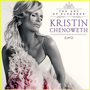 Kristin Chenoweth Reveals 'Art of Elegance' Album Artwork & Track Listing!
