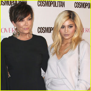 Kylie Jenner Rushes to Mom Kris' Side After Car Accident