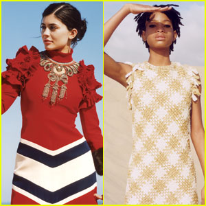 Kylie Jenner & Willow Smith Go High Fashion for 'Vogue'