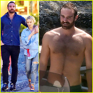Kylie Minogue & Joshua Sasse Flaunt Their Love on Italian Vacation!