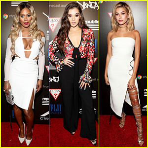 Laverne Cox, Hailee Steinfeld & Hailey Baldwin Live It Up At Republic Records MTV VMAs After Party!