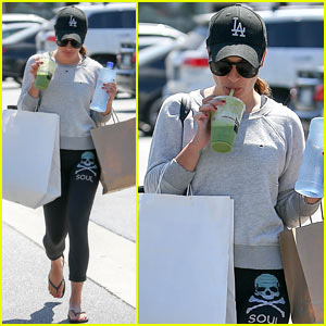 Lea Michele is SoulCycle's Biggest Fan!