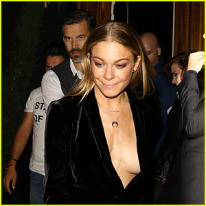 LeAnn Rimes Starts Her Birthday Celebration Early at the Nice Guy!