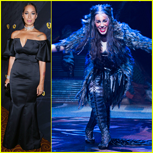 Leona Lewis Takes A Bow At 'Cats' Broadway Opening Night!
