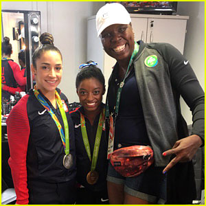 Leslie Jones Meets Olympians Simone Biles & Aly Raisman in Rio (Video)