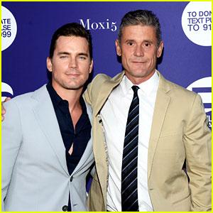 Matt Bomer & Husband Simon Halls Suit Up for Orlando Benefit
