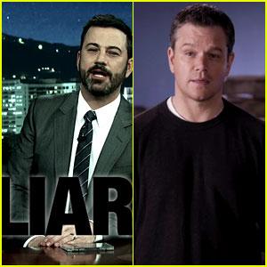 Matt Damon Runs Attack Ad Against Jimmy Kimmel's Vice Presidential Campaign - Watch Now!