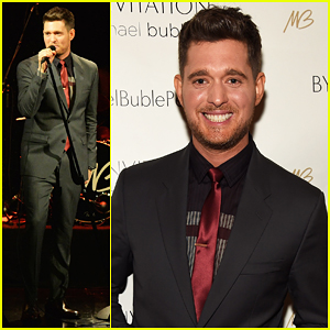Michael Bublé's New Album 'Nobody But Me' Will Feature Song Written By Harry Styles & Meghan Trainor!