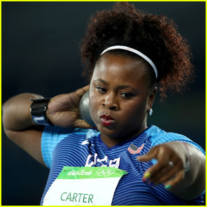 Michelle Carter Wins Team USA's First Gold in Women's Shot Put