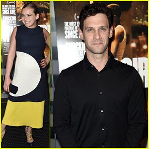 Morgan Saylor & Justin Bartha Premiere 'White Girl' in NYC