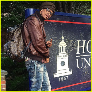 Nick Cannon Just Kicked Off His First Day at Howard University