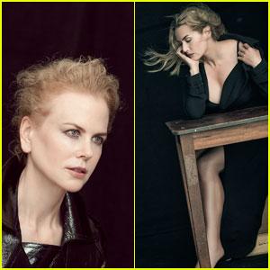 Nicole Kidman & Kate Winslet Pose for Pirelli Calendar 2017