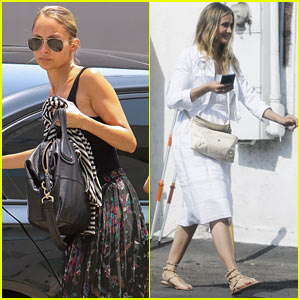 Nicole Richie & Cameron Diaz Have a Fun Family Day with Sparrow & Harlow!